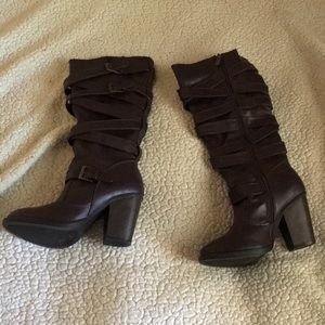 Just Fab heeled boots